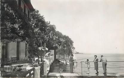 """CPSM FRANCE 74 """" Evian les Bains, Hôtel les Cygnes"""""""