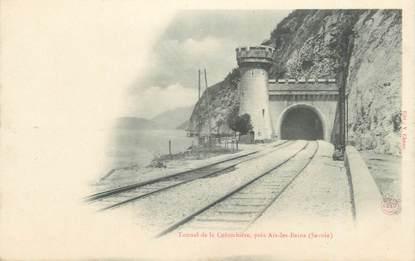 """CPA FRANCE 73 """"La Colombière, Le tunnel"""""""