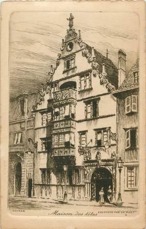 """CPA FRANCE 68 """" Colmar, Maison des Têtes"""""""