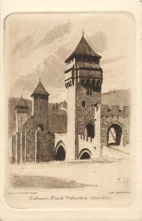 "CPA FRANCE 46 "" Cahors, Pont Valentré"""