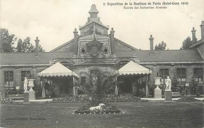 """CPA FRANCE 93 """"St Ouen, Entrée des industries diverses"""" / EXPOSITION DE 1910"""