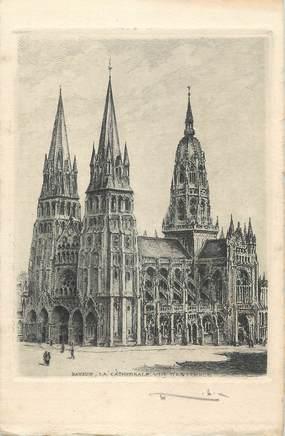"CPA FRANCE 14 "" Bayeux, La Cathédrale"""