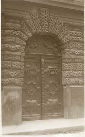 """CARTE PHOTO FRANCE 13 """" Aix en Provence, Une porte"""""""