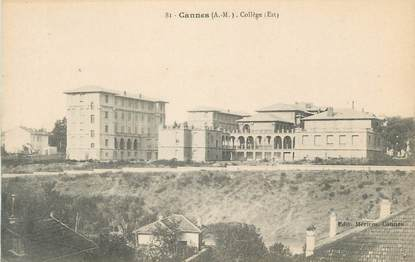 """CPA FRANCE 06 """" Cannes, Le collège"""""""