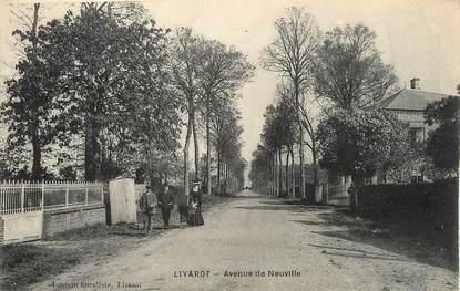 "/ CPA FRANCE 14 ""Livarot, avenue de Neuville"""