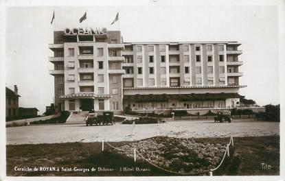 "CPSM FRANCE 17 "" Royan, L'Hôtel Océanic"""