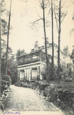 "CPA FRANCE 61 "" Bagnoles de l'Orne, Villa Régina"""
