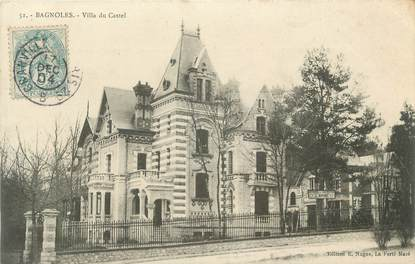 "CPA FRANCE 61 "" Bagnoles, Villa du Castel"""