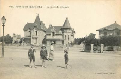 """CPA FRANCE 44 """"Pornichet, La Place de l'Europe"""""""