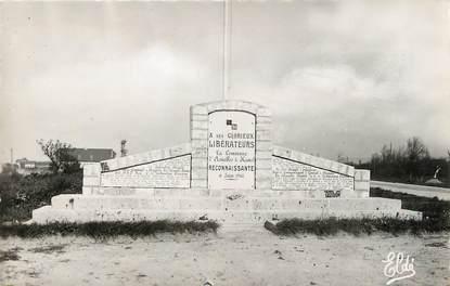 """/ CPSM FRANCE 14 """"Asnelles, monument de la Libération"""""""