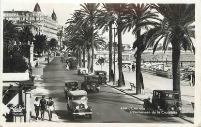 """CPSM FRANCE 06 """" Cannes, Promenade de la Croisette"""""""