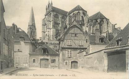 """CPA FRANCE 89 """"Auxerre, Eglise St Germain"""""""