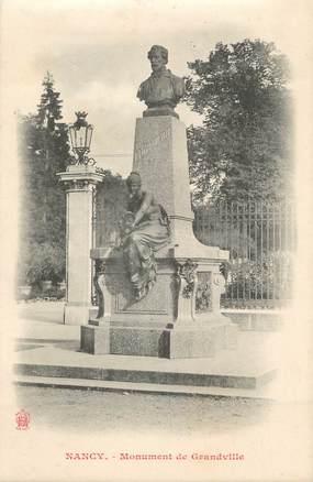"""CPA FRANCE 54 """" Nancy, Le Monument de Grandville"""""""