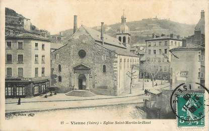 """/ CPA FRANCE 38 """"Vienne, église Saint Martin le Haut"""""""