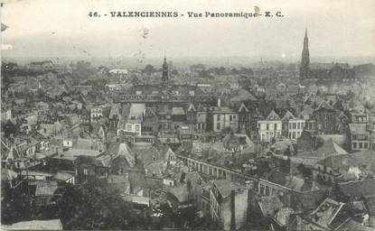 "CPA FRANCE 59 "" Valenciennes, Vue panoramique"""