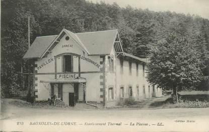 """CPA FRANCE 61 """" Bagnoles de l'Orne, Etablissement thermal"""""""