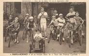 """30 Gard CPA FRANCE 30 """"Bessèges, 1935, Tour de France cycliste enfant"""" / VOITURE A PEDALE"""