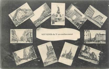 "CPA FRANCE 75010 "" Paris, Vues"""