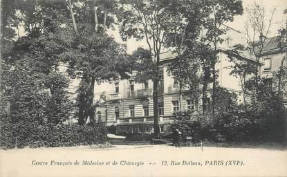 """CPA FRANCE 75002 """" Paris, Centre Français de Médecine et de Chirurgie """""""