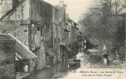 "/ CPA FRANCE 27 "" Gisors, les bords de l'Epte"""