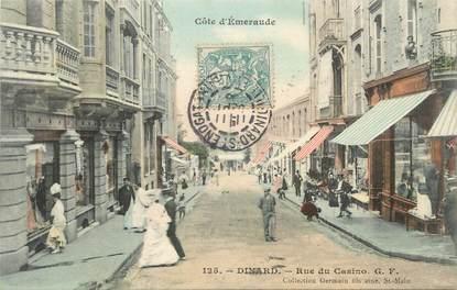 """CPA FRANCE 35 """" Dinard, Rue du Casino"""""""