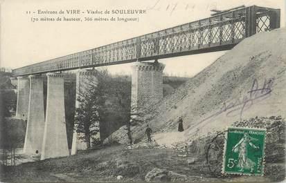 """CPA FRANCE 14 """"Souleuvre, Le viaduc"""""""