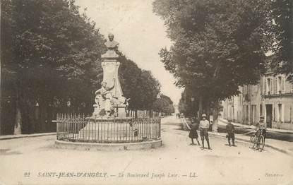 """CPA FRANCE 17 """" St Jean d'Angély, Le Boulevard Joseph Lair"""""""