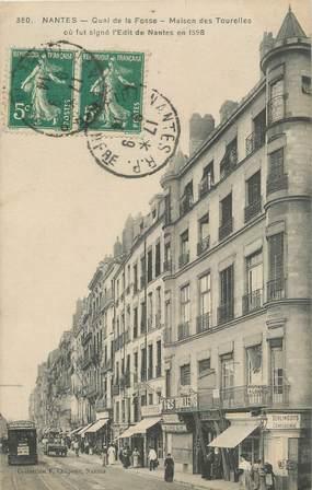 """CPA FRANCE 44 """" Nantes, Quai de la Fosse, Maison des Tourelles'"""