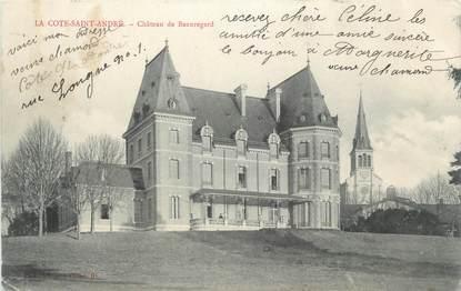 """CPA FRANCE 38 """" La Côte St André, Château de Beauregard"""""""