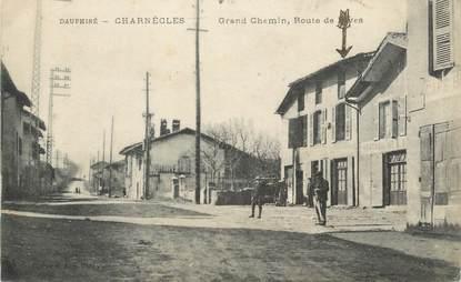 """CPA FRANCE 38 """" Chaponnay, Avenue de la Place"""""""