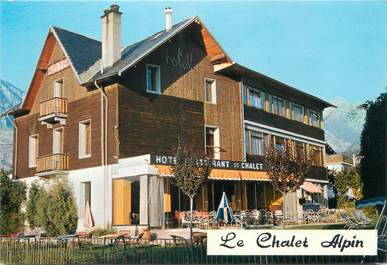 """CPSM FRANCE 05 """" Guillestre, Hôtel Châlet Alpin'"""