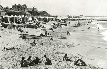 "/ CPSM FRANCE 40 ""Capbreton, la plage"""