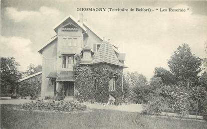 """CPA FRANCE 90 """"Giromagny, Les Roseraies"""""""