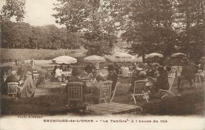 """CPA FRANCE 61 """" Bagnoles de l'Orne, La Tanière à l'heure du thé"""""""