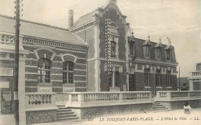 """CPA FRANCE 62 """" Le Touquet - Paris Plage, L'Hôtel de Ville"""""""