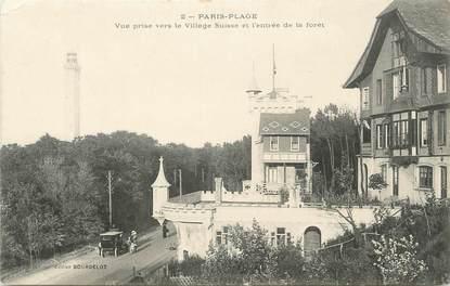 """CPA FRANCE 62 """" Le Touquet - Paris Plage, Vue prise vers le village Suisse et l'entrée de la forêt"""""""