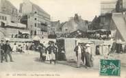 """62 Pa De Calai CPA FRANCE 62 """" Le Portel, La plage vers l'Hôtel de Ville"""""""