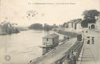 """CPA FRANCE 86 """" Chatellerault, Les bords de la Vienne"""""""