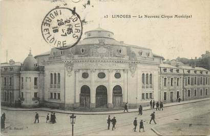 Cpa france 87 limoges le nouveau cirque municipal for 87 haute vienne france