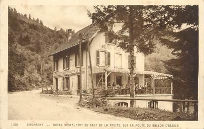 """CPA FRANCE 90 """" Giromagny, Hôtel Restaurant du Saut de la Truite"""""""