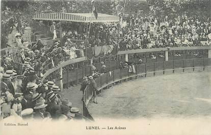 """CPA FRANCE 34 """" Lunel, Les arènes"""""""