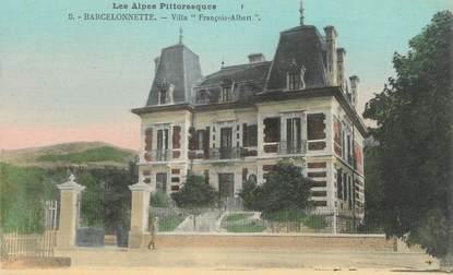 """CPA FRANCE 04 """" Barcelonnette, Villa François Albert"""""""