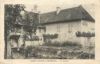 """CPA FRANCE 38 """" St Victor de Morestel, Le Moulin"""""""