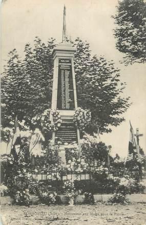 """CPA FRANCE 38 """"Romagnieu, Le monument aux morts"""""""
