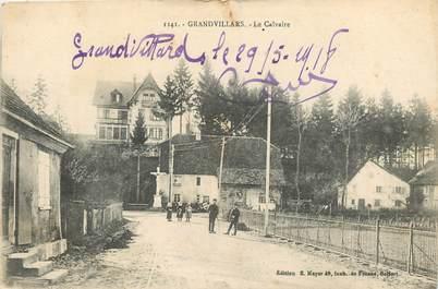 """CPA FRANCE 90 """"Grandvillars, le Calvaire"""""""