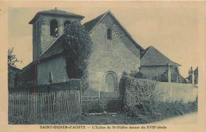 """CPA FRANCE 38 """" St Didier d'Aoste, L'église"""""""