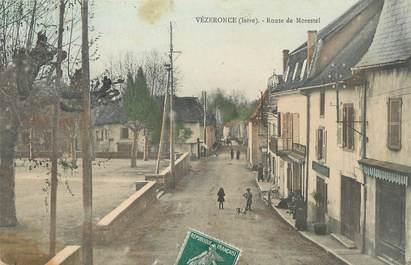 """CPA FRANCE 38 """" Vézeronce, Route de Morestel"""""""