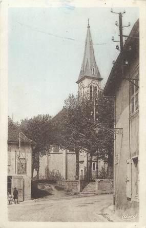 """CPA FRANCE 38 """" Vézeronce, Un quartier de l'église"""""""