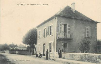 """CPA FRANCE 38 """" Veyrins, Maison de M. Vittoz"""""""