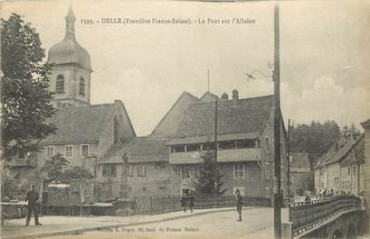 """CPA FRANCE 90 """"Delle, le Pont sur L'Allaine"""""""